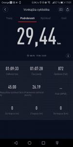 30-kilometers test of the iMortor smart electric wheel battery life 2