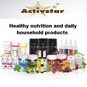 ActiveStar - healthy nutrition and daily household products